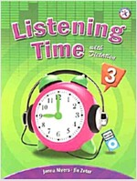 Listening Time 3 : Student Book (Paperback + MP3 CD)