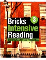 Bricks Intensive Reading 3 (책 + CD 2장)