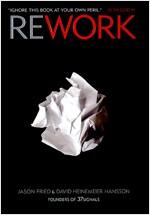 [중고] Rework (Hardcover)