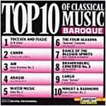 [중고] TOP 10 OF CLASSICAL BAROQUE MUSIC