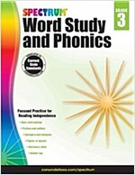 Spectrum Word Study and Phonics, Grade 3 (Paperback)