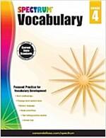 Spectrum Vocabulary, Grade 4 (Paperback)