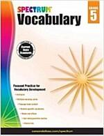 Spectrum Vocabulary, Grade 5 (Paperback)