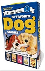 My Favorite Dog Stories: Learning to Read Box Set (Paperback)