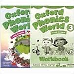 [세트] Oxford Phonics World Level 3 SET (Studentbook + Workbook)