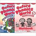 [세트] Oxford Phonics World Level 5 SET (Studentbook + Workbook)