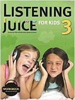 Listening Juice for Kids 3 Workbook (Paperback)
