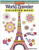 World Traveler Coloring Book: 30 World Heritage Sites (Paperback)