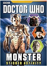 Doctor Who: Monster Sticker Activity Book (Paperback)