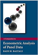 A Companion to Econometric Analysis of Panel Data (Paperback)