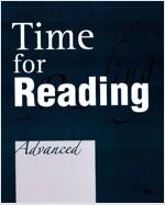 [중고] Time for Reading Advanced