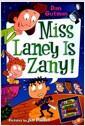 [중고] Miss Laney Is Zany! (Paperback)