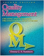 Quality Management: Creating and Sustaining Organizational Effectiveness (Hardcover, 2)