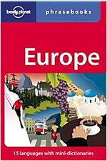 Europe Phrasebook (Paperback, 4, Revised)