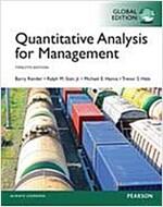 Quantitative Analysis for Management, Global Edition (Paperback, 12 ed)