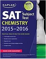 Kaplan SAT Subject Test Chemistry 2015-2016 (Paperback, 2)