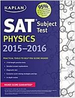 Kaplan SAT Subject Test Physics (Paperback, 2015-2016)