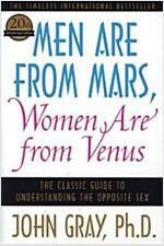 [중고] Men Are from Mars, Women Are from Venus: The Classic Guide to Understanding the Opposite Sex (Paperback)