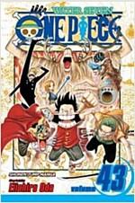 [중고] One Piece, Volume 43: Legend of a Hero (Paperback)