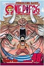 [중고] One Piece, Volume 48: Thriller Bark, Part 3 (Paperback)