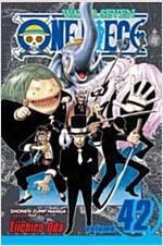 [중고] One Piece, Volume 42: Pirates vs. Cp9 (Paperback)