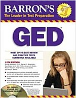 Barron's GED [With CDROM] (Paperback, 15th)