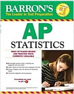 Barron's AP Statistics, 8th Edition (Paperback, 8, Revised)