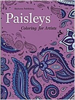 Paisleys: Coloring for Artists (Paperback)