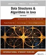 Data Structures and Algorithms in Java (Paperback, 6th International student edition)