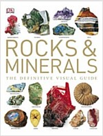 Rocks & Minerals : The Definitive Visual Guide (Hardcover)