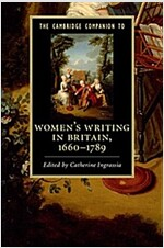 The Cambridge Companion to Women's Writing in Britain, 1660-1789 (Paperback)
