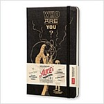 Moleskine Alice's Adventures in Wonderland Limited Edition Notebook, Large, Plain, Black, Hard Cover (5 X 8.25) (Other)