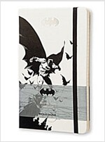 Moleskine Batman Limited Edition Notebook, Large, Ruled, White, Hard Cover (5 X 8.25) (Other)