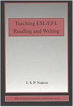 Teaching ESL/EFL Reading and Writing (Paperback)