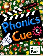 Phonics Cue 2 (Studentbook + Workbook + CD 2장 + Activity Worksheet) (개정판)