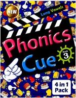 Phonics Cue 3 (Studentbook + Workbook + CD 2장 + Activity Worksheet) (개정판)