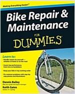 Bike Repair and Maintenance For Dummies (Paperback)