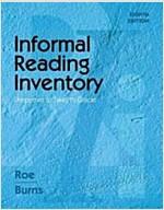 Informal Reading Inventory: Preprimer to Twelfth Grade (Spiral, 8)