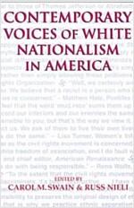 [중고] Contemporary Voices of White Nationalism in America (Paperback)