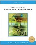 Essentials Of Business Statistics (Hardcover, CD-ROM, 5th)
