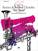 66 Festive and Famous Chorales for Band (Paperback)