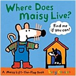 Where Does Maisy Live? (Board Books)