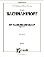 Moments Musicaux, Op. 16 (Paperback)