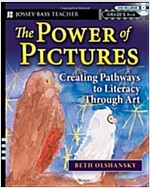 The Power of Pictures: Creating Pathways to Literacy Through Art, Grades K-6 [With DVD] (Paperback)