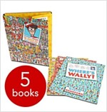 Where's Wally?: The Wonder File Collection ( 5 Books) (Paperback)