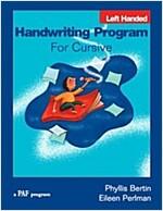 Handwriting Program for Cursive Left Hand (Paperback, Workbook)