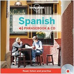 Lonely Planet Spanish Phrasebook [With CD (Audio)] (Hardcover, 3, Revised)