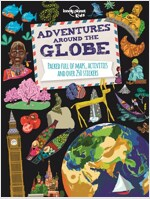Adventures Around the Globe: Packed Full of Maps, Activities and Over 250 Stickers (Paperback)