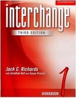 [중고] Interchange Workbook 1 (Paperback, 3 Rev ed)