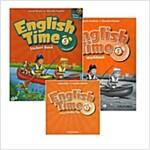 [세트] English Time Level 5 Pack (2nd Edition) (StudentBook 1권+Workbook 1권+CD 2장)